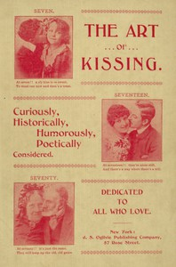 Cover of The Art of Kissing: Curiously, Historically, Humorously, Poetically Considered