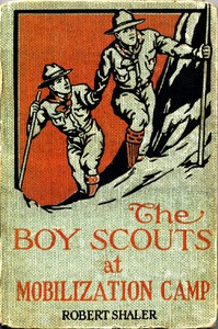 Cover of The Boy Scouts at Mobilization Camp