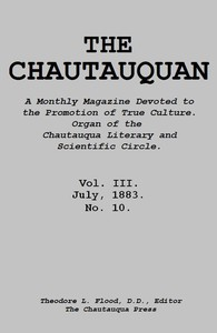The Chautauquan, Vol. 03, July 1883