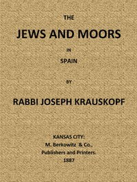 Cover of Jews and Moors in Spain