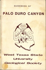 Guidebook of Palo Duro Canyon