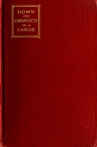 Cover of Down the Orinoco in a Canoe