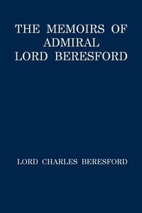 Cover of The Memoirs of Admiral Lord Beresford