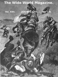 Cover of The Wide World Magazine, Vol. 22, No. 130, January, 1909