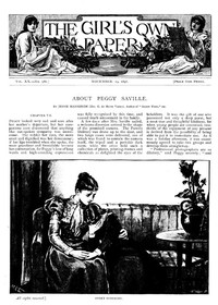 Cover of The Girl's Own Paper, Vol. XX, No. 986, November 19, 1898