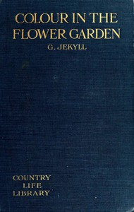 Cover of Colour in the flower garden