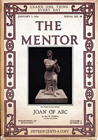 Cover of The Mentor: Joan of Arc, v. 3, Num. 22, Serial No. 98, January 1, 1916