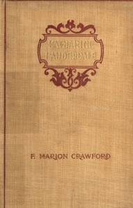 Cover of Katherine Lauderdale; Vol. 2 of 2
