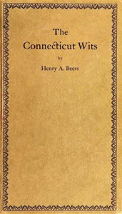 The Connecticut Wits, and Other Essays