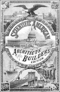 Cover of Scientific American Architects and Builders Edition, No. 26, Dec., 1887