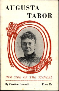Cover of Augusta Tabor: Her Side of the Scandal