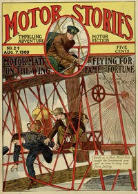 Cover of Motor Matt on the Wing; or, Flying for Fame and Fortune
