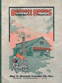 Cover of Bennett's Small House Catalog, 1920