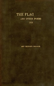 The Flag, and Other Poems, 1918