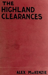 Cover of The History of the Highland ClearancesSecond Edition, Altered and Revised