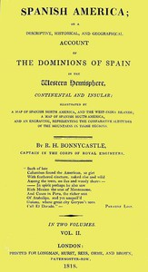 Spanish America, Vol. 2 (of 2)