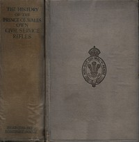 Cover of The History of the Prince of Wales' Civil Service Rifles