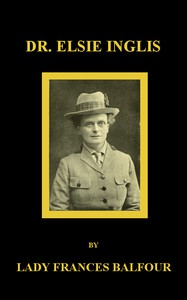 Cover of Dr. Elsie Inglis