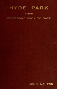 Cover of Hyde Park from Domesday-book to Date