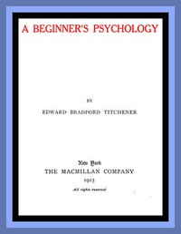 Cover of A Beginner's Psychology