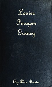 Cover of Louise Imogen Guiney