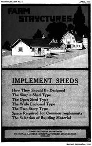 Cover of Implement sheds