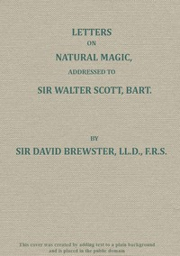 Cover of Letters on Natural Magic; Addressed to Sir Walter Scott, Bart.