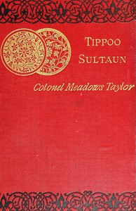 Cover of Tippoo Sultaun: A tale of the Mysore war