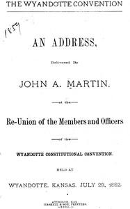 The Wyandotte Convention: an address