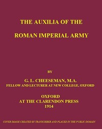Cover of The Auxilia of the Roman Imperial Army