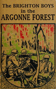 Cover of The Brighton Boys in the Argonne Forest