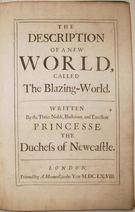 Cover of The Description of a New World, Called the Blazing-World