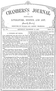 Chambers's Journal of Popular Literature, Science, and Art, No. 729, December 15, 1877