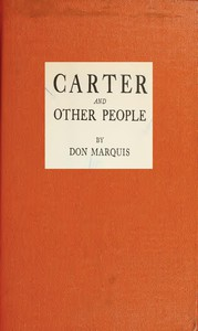 Carter, and Other People