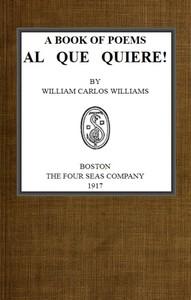 Cover of A Book of Poems, Al Que Quiere!