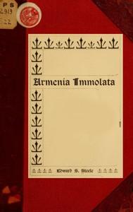 Cover of Armenia immolata