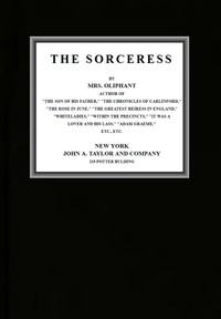 Cover of The Sorceress (complete)
