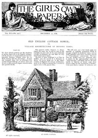 The Girl's Own Paper, Vol. XX, No. 992, December 31, 1898