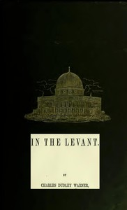 Cover of In the Levant Twenty Fifth Impression