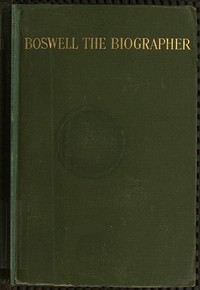 Boswell the Biographer