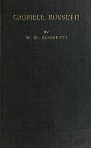 Cover of Gabriele Rossetti: A Versified Autobiography