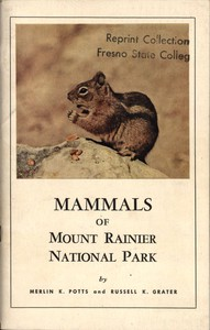 Mammals of Mount Rainier National Park
