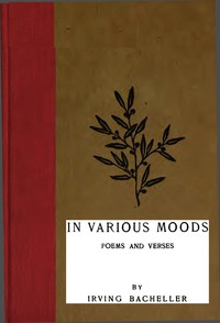 In Various Moods: Poems and Verses