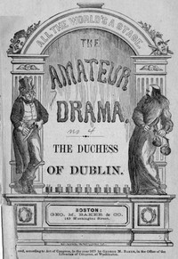 Cover of The Duchess of Dublin: A Farce