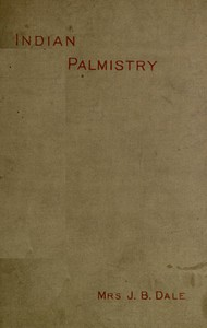 Cover of Indian Palmistry