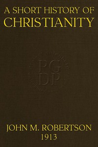 Cover of A Short History of ChristianitySecond Edition, Revised, With Additions