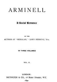 Arminell: A Social Romance, Vol. 2