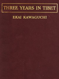 Cover of Three Years in Tibet
