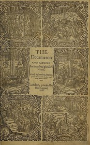 Cover of The Decameron (Day 1 to Day 5)Containing an hundred pleasant Novels
