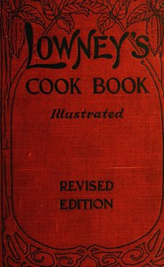 Lowney's Cook BookIllustrated in Colors